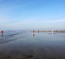 Westward Ho! Beach by apoetsjournal