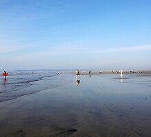 Westward Ho! Beach by apoetsjournal