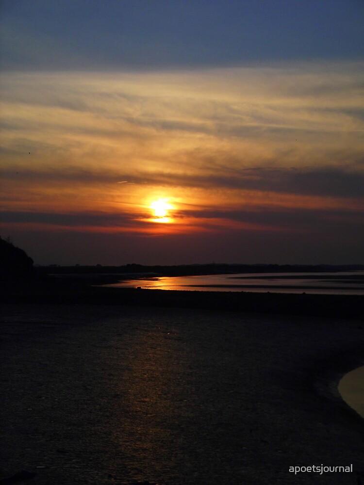 Fremington Quay Sunset  by apoetsjournal