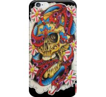Skull and Snakes iPhone Case/Skin