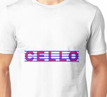 Cello Red White & Blue Unisex T-Shirt