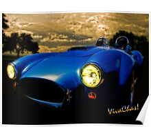 Shelby Cobra Before the Storm Poster