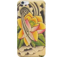 Lotus Flower iPhone Case/Skin