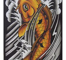 Koi Fish by MikeFrench