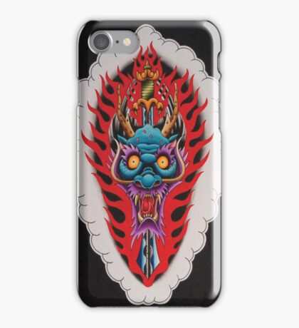 Dragon Head and Sword iPhone Case/Skin