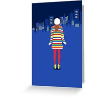 new york, new york. Greeting Card