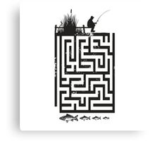 Maze Fisher Canvas Print