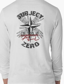 Subject Zero- To Err is All Long Sleeve T-Shirt