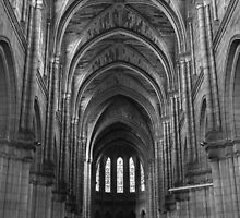 Bergerac Cathedral Interior by Mark Hood