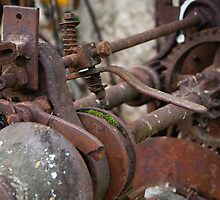 Rusted Machinery by Mark Hood