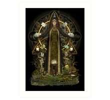 Witch of the Tarot Art Print