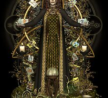 Witch of the Tarot by magicalartz