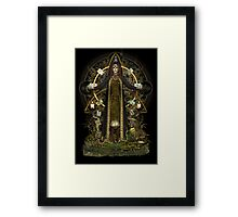 Witch of the Tarot Framed Print