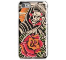 Rose and Reaper iPhone Case/Skin