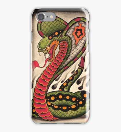 Traditional Cobra iPhone Case/Skin