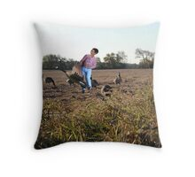 Go figure……it's just like Rick to kick you when you're down! Throw Pillow