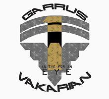 Garrus Vakarian- Eye for an Eye Variant  Men's Baseball ¾ T-Shirt