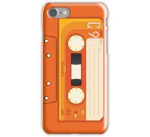 Orange Cassette iPhone Case/Skin