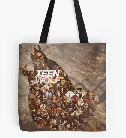 Teen wolf forest Tote Bag