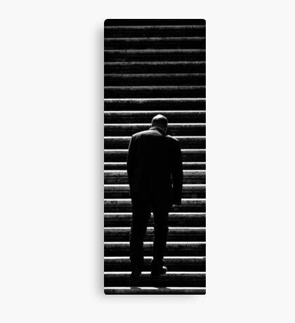 Stairs of despair Canvas Print