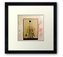 SOMBRERO Y CORONA: UN RETRATO IMPERIAL (hat and crown: an imperial portrait) Framed Print