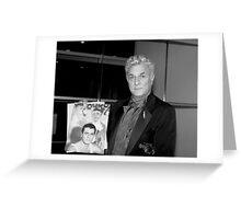 Actor Tony Curtis  Greeting Card