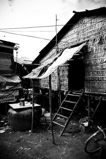 Cambodia Noir - Home Sweet Home by Tyson Battersby