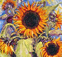 Sunflowers by OriginalbyParis
