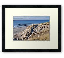 Dune & Beach Framed Print