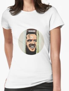 The Shining - Here's Johnny Womens Fitted T-Shirt