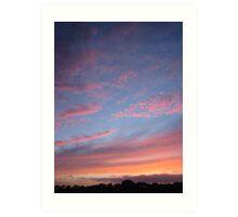 """"""" A Guernsey Sunset """" Art Print"""