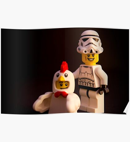 """Say """"chicken"""" Poster"""