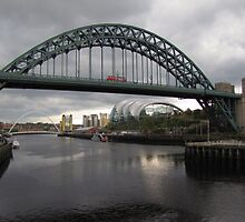Newcastle Landmarks by rubyrainbow