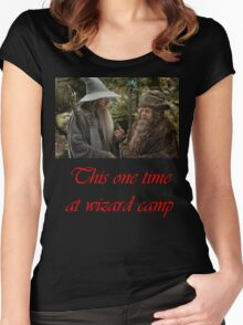 Wizard camp Women's Fitted Scoop T-Shirt