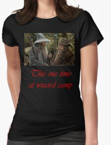 Wizard camp Womens Fitted T-Shirt