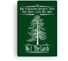 No. 1 The Larch Canvas Print