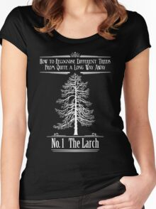 No. 1 The Larch Women's Fitted Scoop T-Shirt