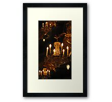 Luxurious Lighting Framed Print