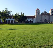 Santa Barbara Mission by Henrik Lehnerer