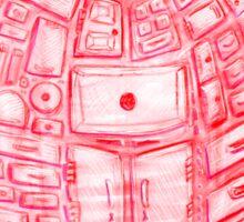 Heart Cabinet Sticker
