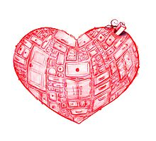 Heart Cabinet Photographic Print
