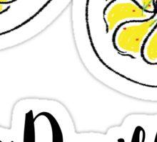 Team Devilled Eggs Sticker