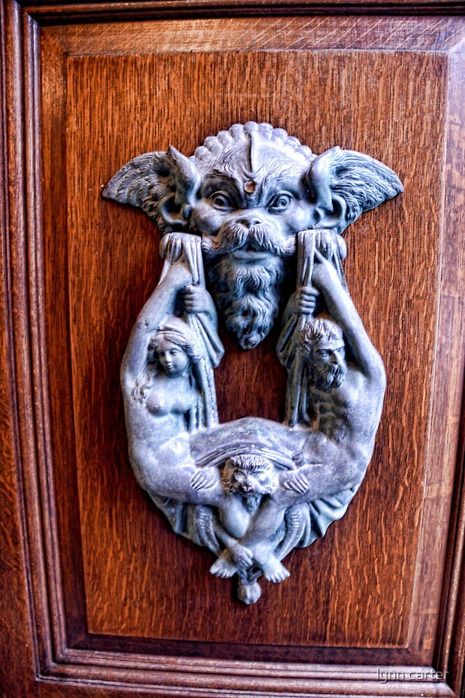 Italian Doorknocker by lynn carter