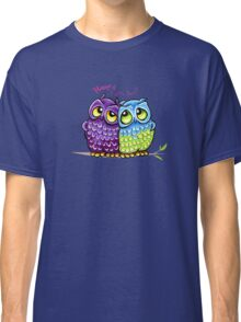 Owls in Love Classic T-Shirt