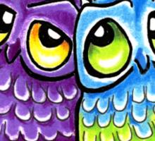 Owls in Love Sticker