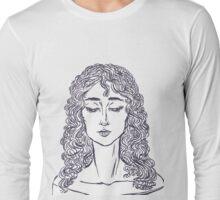 WavyHair Long Sleeve T-Shirt