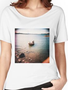 tämä on vene- this is a boat Women's Relaxed Fit T-Shirt