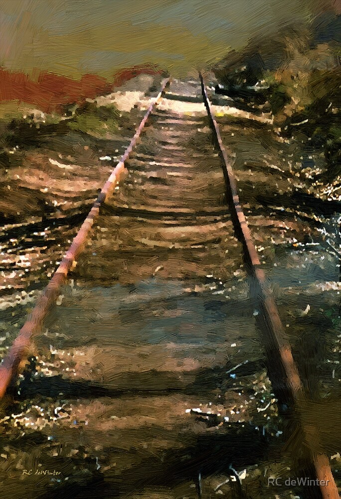 Train Track to Hell by RC deWinter