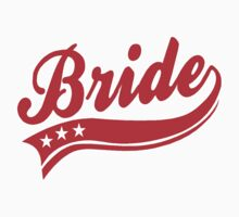 BRIDE - RED AND WHITE by mcdba