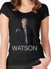 WATSON multi-tee Women's Fitted Scoop T-Shirt